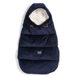 Imagine Sac pentru carucior Aspen BABY - Waterproof - Velvet collection - Royal Navy