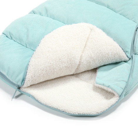 Imagine Sac pentru carucior Aspen BABY - Waterproof - Velvet collection - Audrey Mint