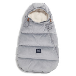 Imagine Sac pentru carucior Aspen BABY - Waterproof - Velvet collection - Dark Grey