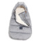 Imagine Sac pentru carucior Aspen BABY - Waterproof - Velvet collection - Dark Grey