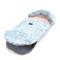 Imagine Sac pentru carucior Aspen UNI LIGHT - Waterproof - CAPPADOCIA BUTTERFLY & POWDER PINK