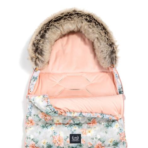 Imagine Sac pentru carucior Aspen COMBO - Waterproof - Blooming Boutique & Powder Pink