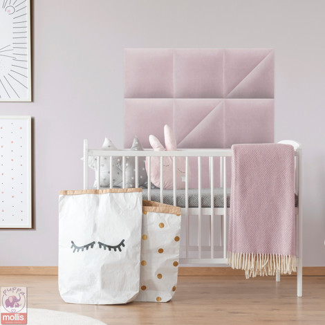 Imagine Mollis Basic 02 Lavender (Triunghi - Set 2 buc = 30x30 cm)