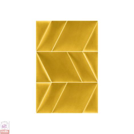 Imagine Mollis Abies 03 Gold (Triunghi A - 30x15 cm)