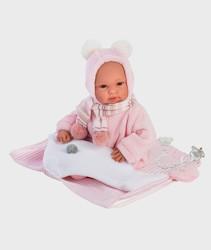 Imagine Papusa cu rucsac roz si sunete