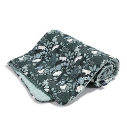 Imagine Patura  Toddler 110x140 Velvet Collection - It`s magic - Smoke mint