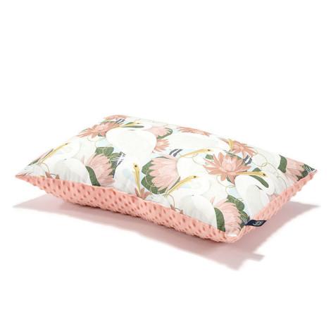 Imagine Perna BIG JOHN Minky -Heron in pink lotus - Papaya