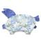 Imagine Perna Sleepy Pig Minky - It's white magic - Ink