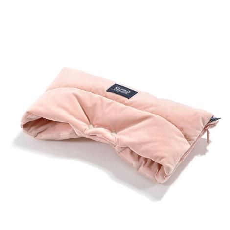 Imagine Muff ASPEN Velvet Collection Winterproof - Powder pink