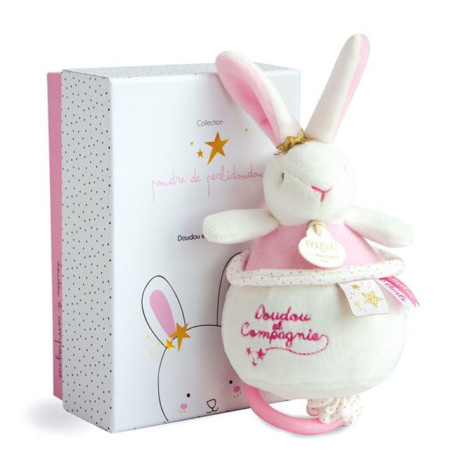 Imagine Jucarie muzicala Flower Rabbit Pink