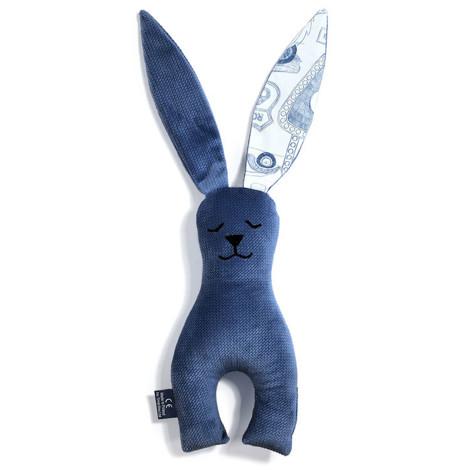 Imagine Jucarie Mr. Bunny Velvet - Route 66 - Harvard Blue