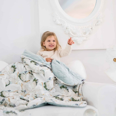Imagine Patura  Toddler 110x140 Minky Collection - It's white magic
