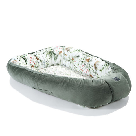 Imagine Baby Nest Velvet - Forest - Khaki