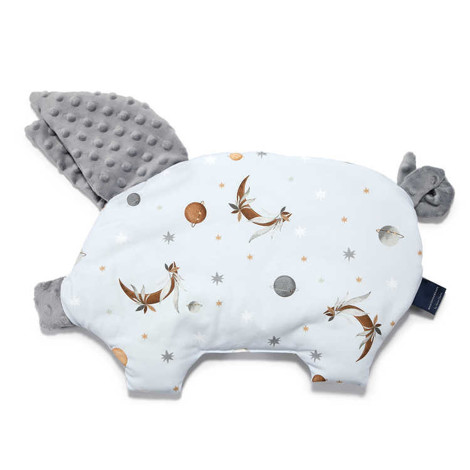 Imagine Perna Sleepy Pig Minky - Fly me to the Moon Sky Pure - Grey