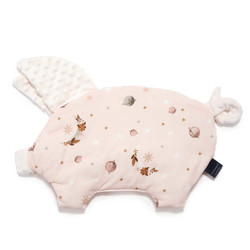 Imagine Perna Sleepy Pig Minky - Fly me to the Moon Nude Pure - Ecru