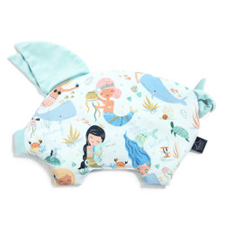 Imagine Perna Sleepy PIG Velvet - Mermaid Playground - Audrey mint