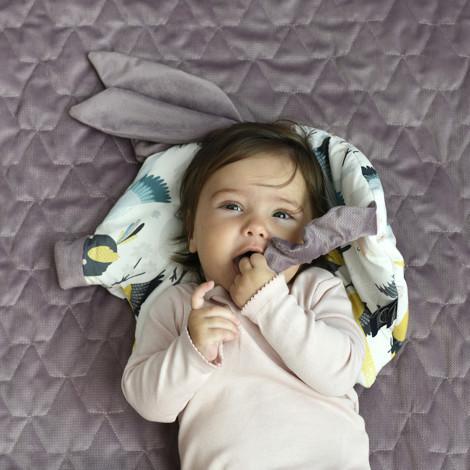 Imagine Perna Sleepy PIG Velvet - French Riviera Boy - Harvard blue