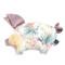 Imagine Perna Sleepy PIG Velvet - Boho Palms light - French Lavender