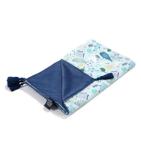 Imagine Patura Medium Light Velvet Collection - Deep Blue - Harvard Blue
